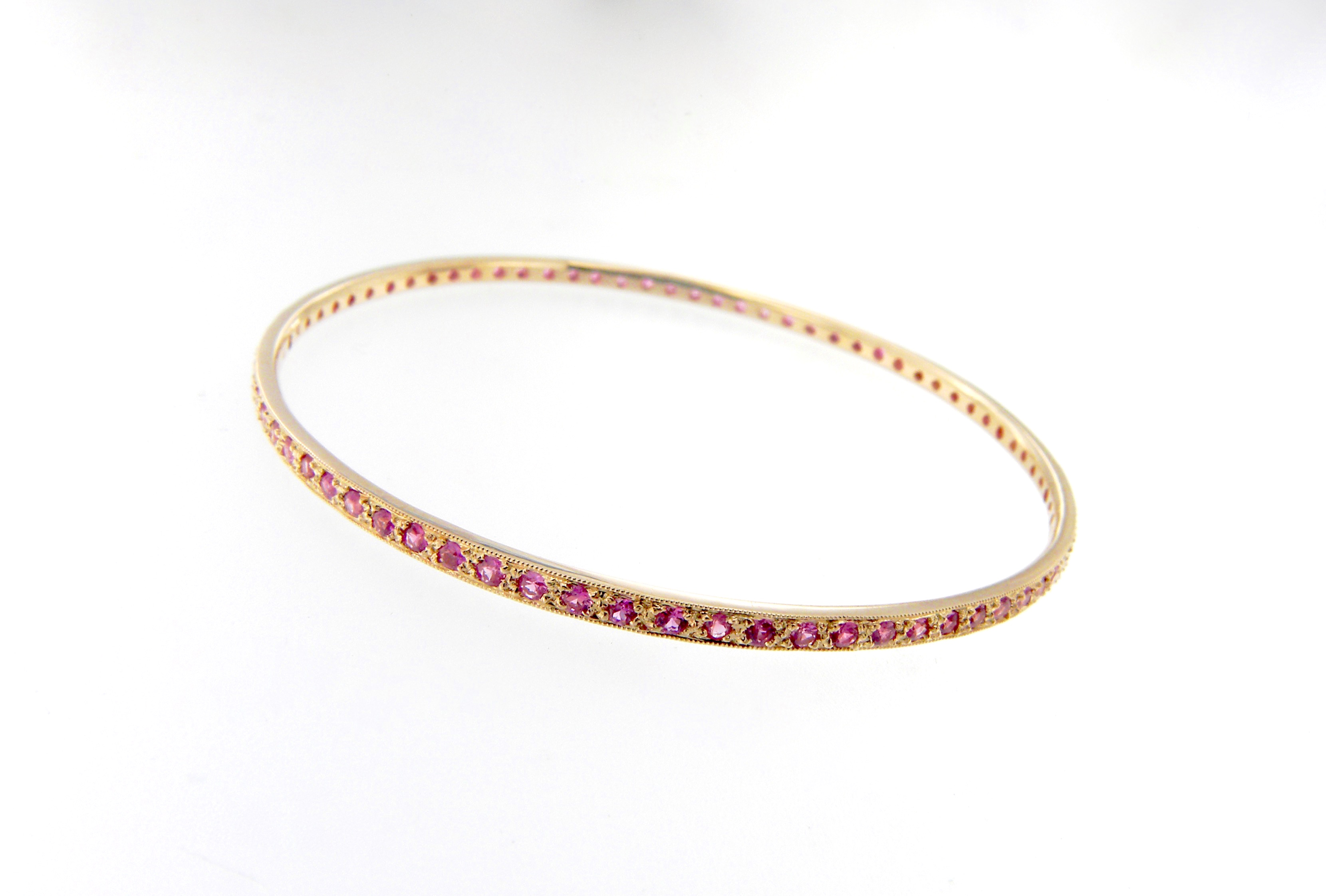 oval diamonds pink sapphire white item mom with pin gift bracelet ctw gold round perfect michael diamond for the christoff in